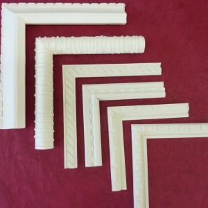 Angles de baguettes en carton
